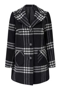 James Lakeland Check Wool Coat
