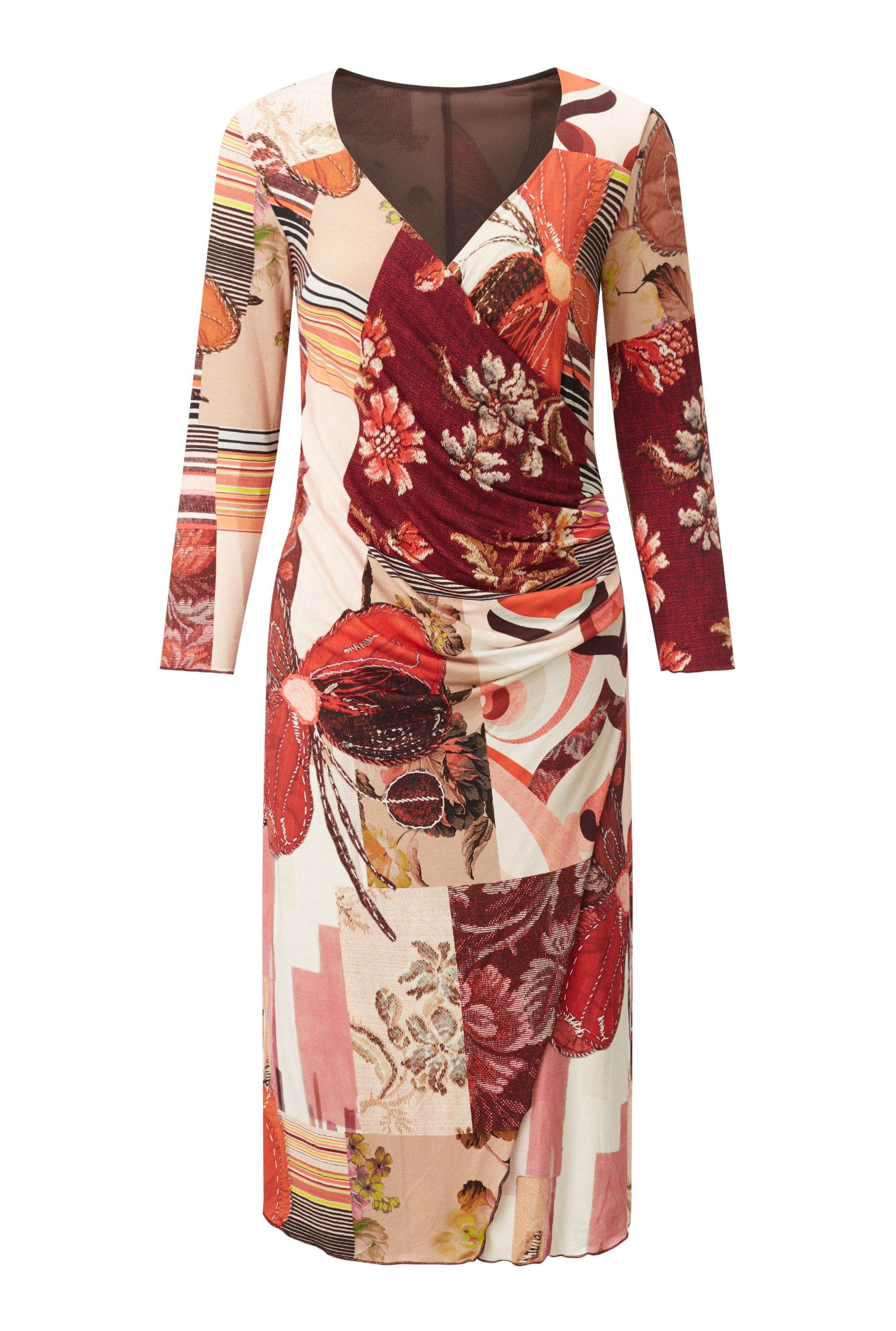 James Lakeland Rose Print Dress, Rose