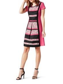 James Lakeland Block Stripe Dress