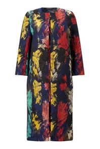 James Lakeland Multi Coloured Coat