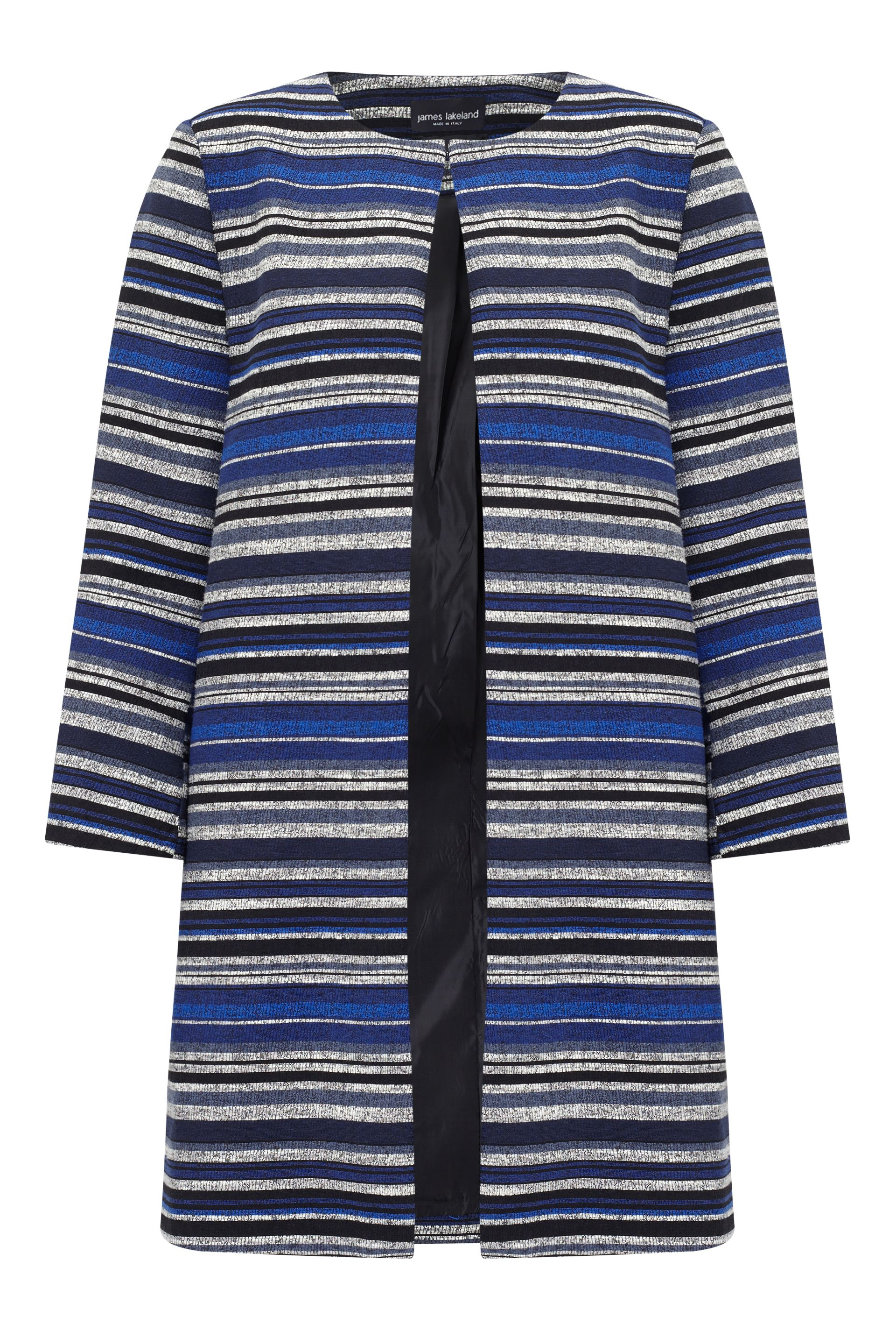 James Lakeland Stripe Jacket, Blue