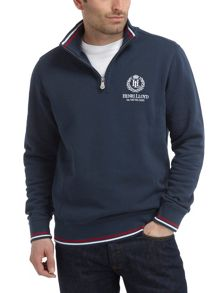 Grafham half zip sweat