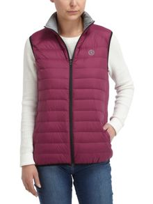 Violet Lightweight Down Gilet