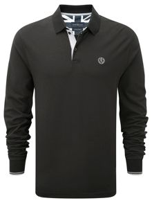 Dacker long sleeve polo shirt