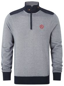 Isla half zip sweat