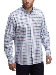 Otterden Gingham Classic Fit Short Sleeve Shirt