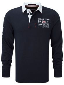 Coldred Regular Fit Rugby Top