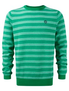 Dash Stripe Crew Neck Jumper