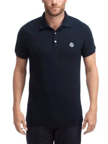 Edensor Plain Fitted Polo Shirt