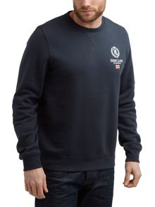 Seaton Crew Neck Pull Over Sweatshirt