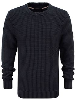 Felsted regular crew neck knit