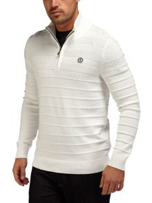 Henri Lloyd Norbeck regular half zip knit