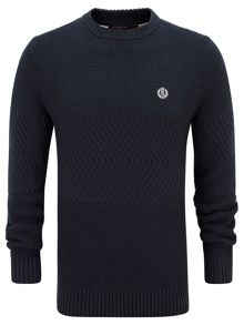 Henri Lloyd Harwell fitted crew neck knit