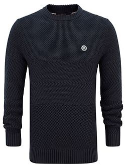 Harwell fitted crew neck knit