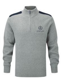 Henri Lloyd Cardon regualr half zip knit