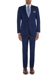 Plain Peak Collar Tailored Fit Suit