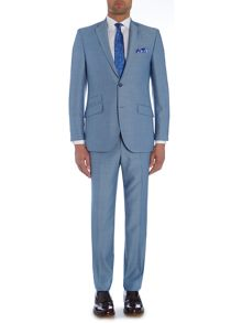 Birdseye Notch Collar Tailored Fit Suit