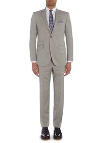 Plain Notch Collar Tailored Fit Suit
