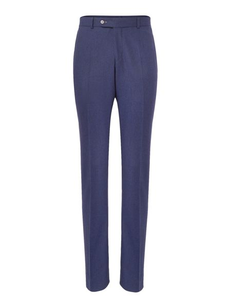 Without Prejudice Blue wool trousers