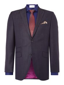 Without Prejudice Navy Pindot Suit