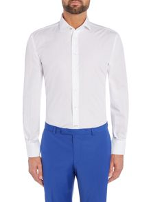 Without Prejudice White formal shirt
