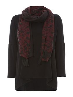 Slouchy Jersey Top Scarf