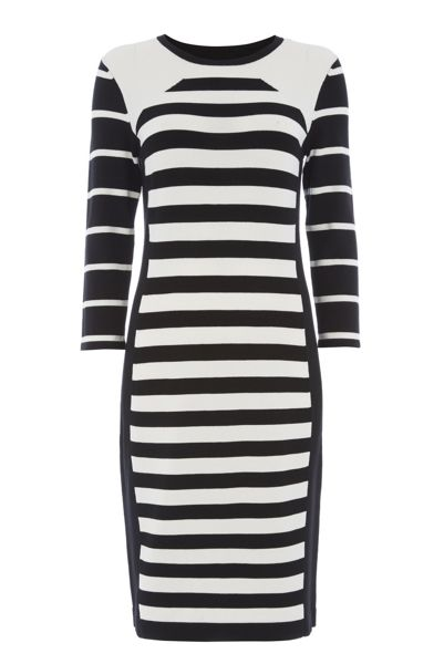 Roman Originals Stripe Knitted Dress