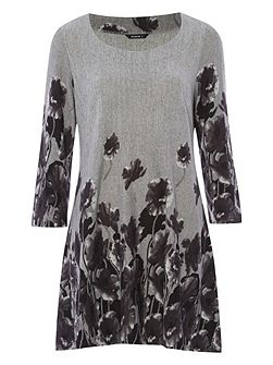 Floral Wool Tunic