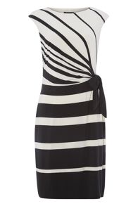 Roman Originals Contrast Stripe Dress