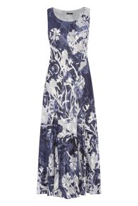 Roman Originals Printed Bias Cut Dress