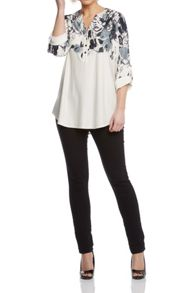 Roman Originals Placement Print Shirt