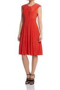 Roman Originals Cross Front Jersey Skater Dress