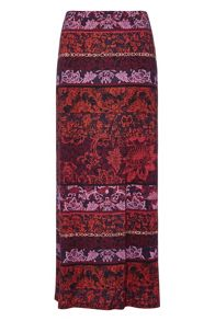 Roman Originals Printed Long Skirt