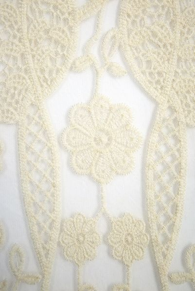 Roman Originals Floral Crochet Jacket