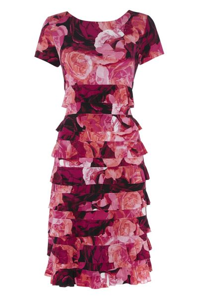 Roman Originals Floral Frill Dress