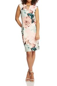 Roman Originals Pastel Floral Print Dress