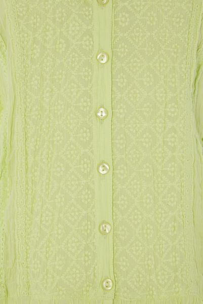 Roman Originals Crinkle Detail Embroidered Blouse