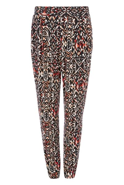Roman Originals Aztec Print Harem Trousers