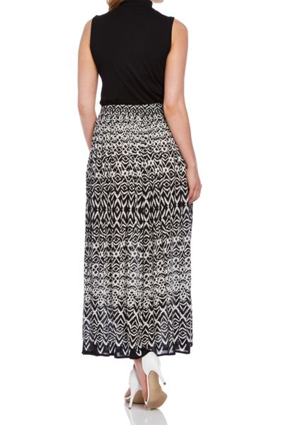 Roman Originals Tribal Print Maxi Skirt