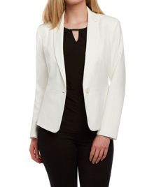 Roman Originals Textured Zip Detail Jersey Jacket