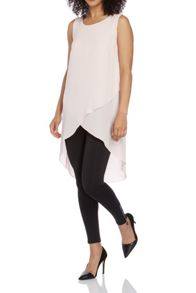 Roman Originals Longline Layered Asymmetric Top