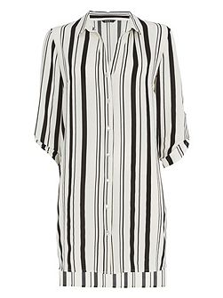 Longline Stripe Blouse