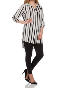 Roman Originals Longline Stripe Blouse