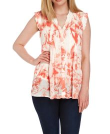 Roman Originals Floral Printed Blouse