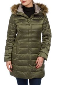 Roman Originals Longline Padded Coat