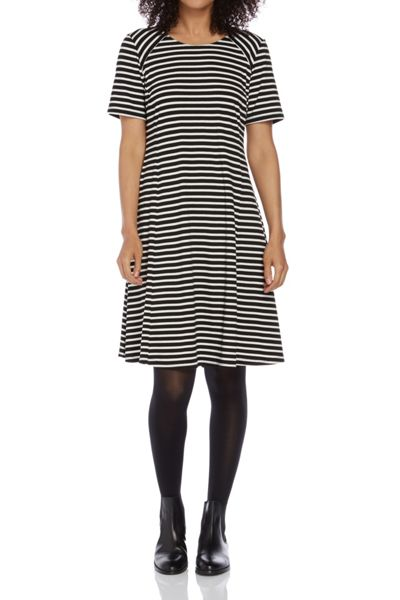 Roman Originals Stripe Jersey Swing Dress