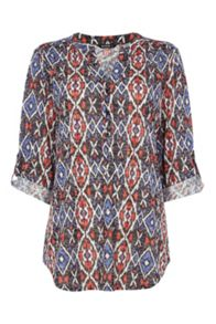 Roman Originals Aztec Burnout Shirt