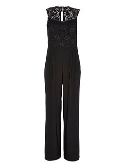Lace Upper Jumpsuit