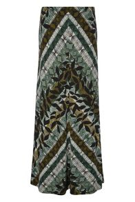 Roman Originals Chevron Maxi Skirt