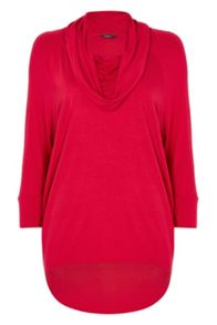 Roman Originals Cowl Neck Jersey Top